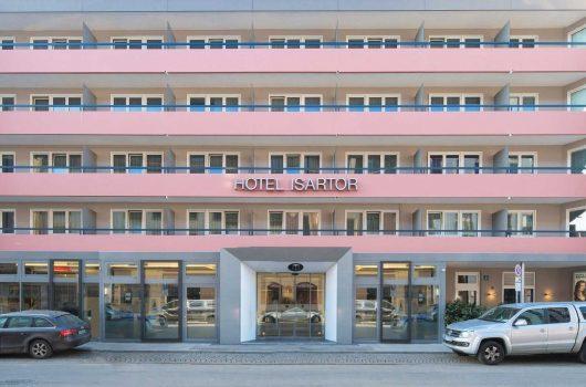 Hotel Isartor Außenansicht